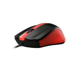 C-TECH WM-01, optická myš, 1200dpi, USB, červená