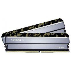 G.Skill Sniper X 2x16GB DDR4 3000MHz CL16, DIMM, XMP 2.0, 1.35V, Digital Camo