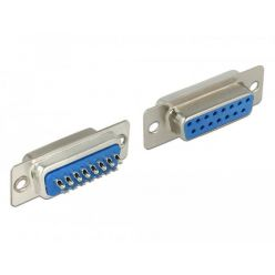 Delock Konektor Sub-D 15 pin samice