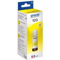 Epson 103 EcoTank žlutá inkoustová lahvička, 65ml