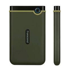 """Transcend StoreJet 25M3G SLIM - 1TB, 2.5"""" externí HDD, USB 3.0, armádní zelená"""