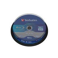 Verbatim BD-R DL, 50GB, 6x, 10ks, spindle
