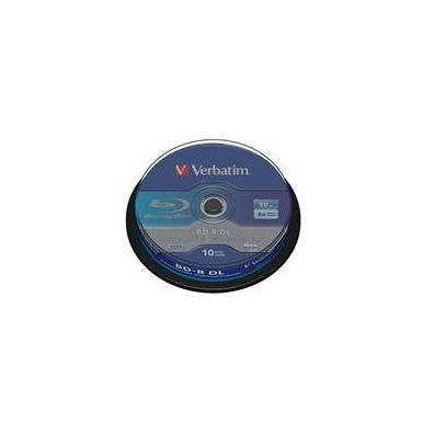 Verbatim BD-R DL, 50GB, 6x, 10ks, spindle