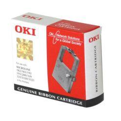 OKI originální páska do tiskárny, 9004294, černá, 130yrd, OKI do řádkových tiskáren řady MX