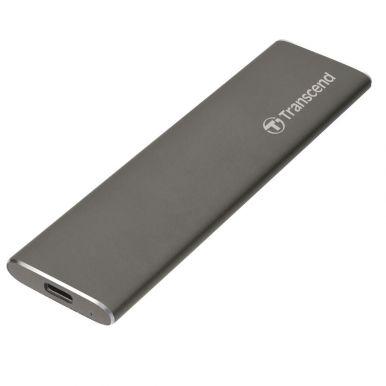 Transcend ESD250C 960GB, externí SSD, USB-C, šedý