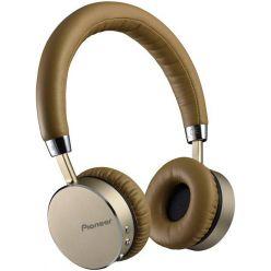Pioneer SE-MJ561BT, sluchátka s BT hnědostříbrná