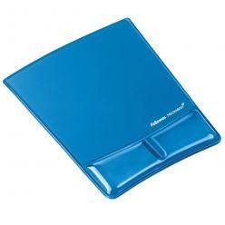 Podložka pod myš a zápěstí Fellowes Health-V CRYSTAL gelová modrá