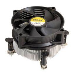 AKASA AK-955V2, chladič CPU, s.775/1155/1156, 9cm fan, měď.jádro