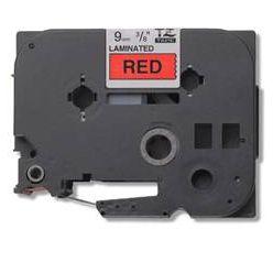 Brother - TZ-421, červená / černá (9mm,laminovaná)