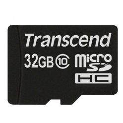 Transcend 32GB microSDHC karta, Class 10