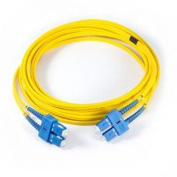 Solarix Patch kabel 9/125 SCupc/SCupc SM OS 1m duplex SXPC-SC/SC-UPC-OS-1M-D