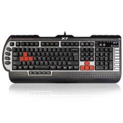 A4tech G800V, voděodolná profesionální herní klávesnice,podložka, USB