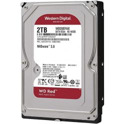 "WD RED 2TB, 3.5"" HDD pro NAS, 5400rpm, 256MB cache, SATA III"