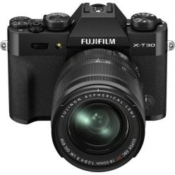 Fujifilm X-T30 II + XF18-55 - Black