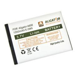 Originální baterie pro mobilní telefon Aligator A600, Li-Ion 1350mAh, bulk