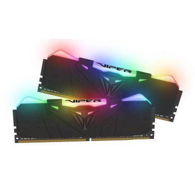 Patriot Viper RGB Black 2x8GB DDR4 4133MHz CL19, DIMM