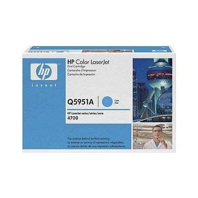 HP Q5951A cyan toner (CLJ 4700)
