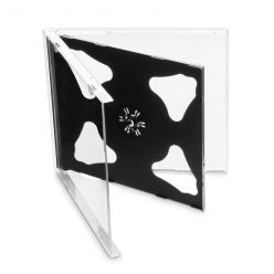 COVER IT Krabička na 2 CD jewel box, 10,4mm, černý, 10ks