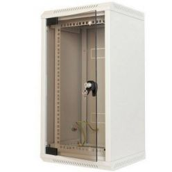 """Triton 10"""" - 10U nebo 19""""-5U, rozvaděč jednodílný, 460mm celoskleněné dveře"""