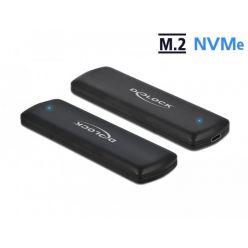 Delock Externí box na M.2 NVMe PCIe SSD, USB-C (USB 3.1)
