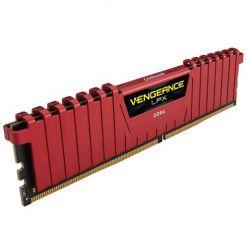 Corsair Vengeance LPX Red 8GB DDR4 2400MHz, CL16-16-16-39, 1.2V, XMP 2.0