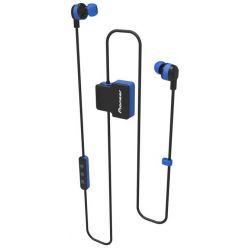 Pioneer špuntová sportovní sluchátka s BT modrá