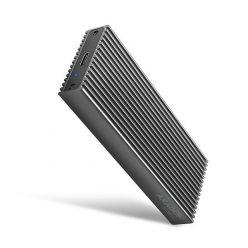 AXAGON EEM2-XR, externí box na M.2 (PCIe) SSD, USB 3.1, kovový