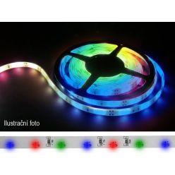 LED pásek 335 (boční)  60LED/m IP65 4.8W/m R-G-B multicolor, cena za 5m zalitý