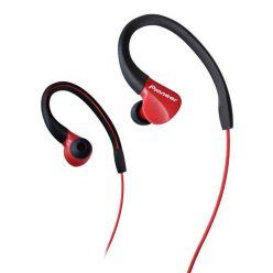 Pioneer závěsná sportovní sluchátka červená