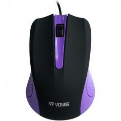 YENKEE YMS 1015PE Myš USB Suva fialová