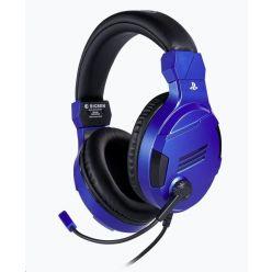 Bigben herní sluchátka s mikrofonem pro PS4, blue