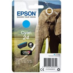 Epson Singlepack Cyan 24 Claria Photo HD Ink