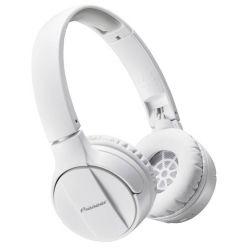 Pioneer náhlavní sluchátka s BT bílá