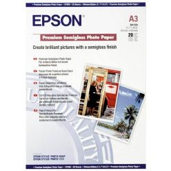 Epson Premium Semigloss Photo paper, A3, pololesk, 251g, 20 listů