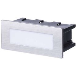 Emos orientační vestavné LED svítidlo 123x53, 1.5W, 55 lm, WW teplá bílá, IP65