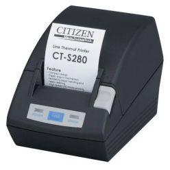 Tiskárna Citizen CT-S280 RS232, externí zdroj, odtrhávací lišta, černá