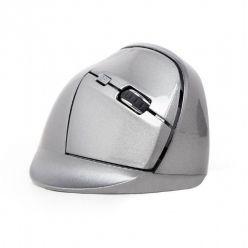 GEMBIRD vertikální optická myš, bezdrátová, šedá