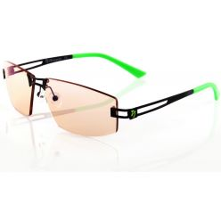 AROZZI herní brýle VISIONE VX-600 Green/ černozelené obroučky/ jantarová skla