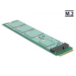 Delock adaptér M.2 Key E -> M.2 Key M