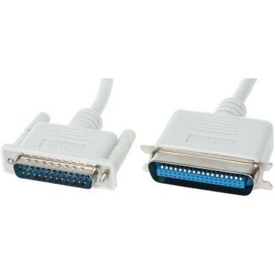 Kabel k tiskárně LPT, bitronics 2m  (25-žil)
