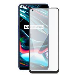 Screenshield REALME 7 PRO (full COVER black) Tempered Glass Protection
