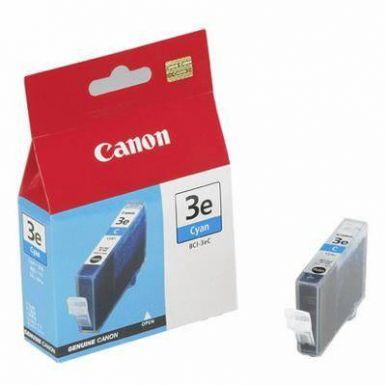 Canon BCI-3eC, inkoustová cartridge, azurová