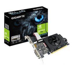 Gigabyte GeForce GT 710, 2GB GDDR5 64b, D-Sub, DVI-D, HDMI, PCIe
