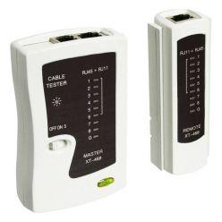 Goobay tester pro ethernetové kabely, cat5/6, RJ45/RJ11