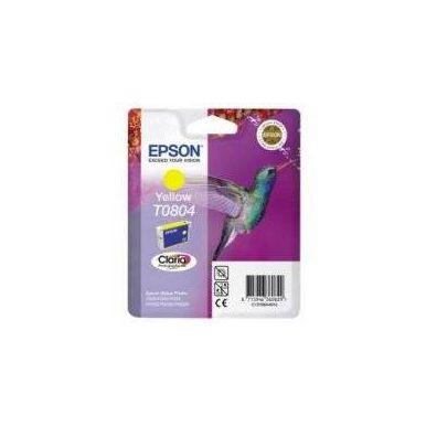 Epson T0804, žlutá cartridge, C13T08044010