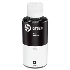 HP GT53XL černá lahvička s inkoustem na 6000 stran, 135ml