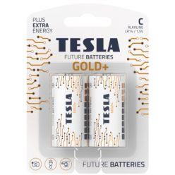 Tesla C GOLD+ alkalická, 2 ks, blister