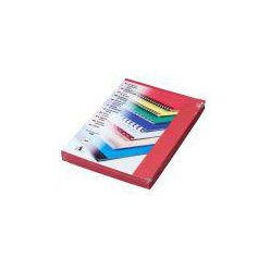 Kartonové desky Delta A4, 250g, červené