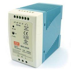 MEANWELL • MDR-100-24 • Průmyslový napájecí zdroj 24V 100W na DIN lištu