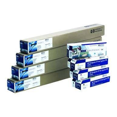 """HP 610/45.7/Natural Tracing Paper, 610mmx45.7m, 24"""", role, C3869A, 90 g/m2, pauzovací papír, bílý, pro inkoustové tiskárny"""